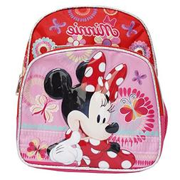 Disney Minnie Mouse Red & Pink 10 Inch Infant Backpack