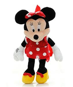 Disney's Minnie Mouse Red Plush Backpack