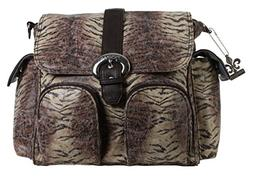 Kalencom Double Duty Diaper Bag - Safari