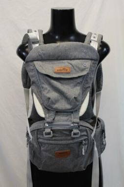 Sunveno Ergonomic Hipseat Baby Carrier SV3 Gray One Size