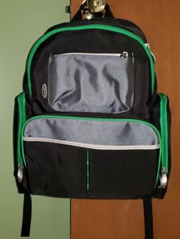 Graco Fern diaper bag backpack green black smart organizer s