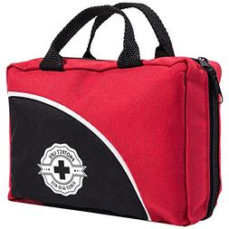 First Aid Kit - 150 Piece - for Car, Travel, Camping, Home,