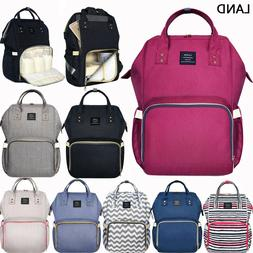 GENUINE LAND Multifunctional Diaper Bags Mummy Backpack Chan