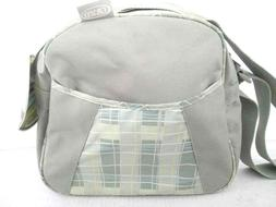 Graco Georgie Collection Multi Pocket Zip Tote Diaper Bag