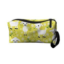 Baby Goats With Flower Travel Toiletry Bag Shaving Kit Organ