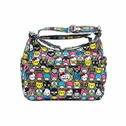 Ju-Ju-Be  Hello Kitty Collection HoboBe Purse Diaper Bag, He