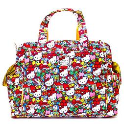 Ju-Ju-Be Hello Kitty Collection Be Prepared Diaper Bag, Tick