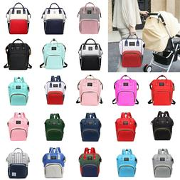 HOT Mummy Maternity Nappy Diaper Bag Large Changing Baby Tra