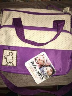 Infant Diaper Bag And Accessories By Ellie & Luke Soho Desig