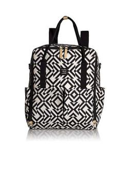 Petunia Pickle Bottom Inter-mix Backpack in Mazes of Milano-