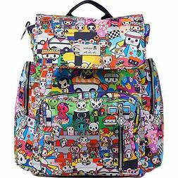 JuJuBe Be Sporty Backpack/Diaper Bag, Tokidoki Collection -