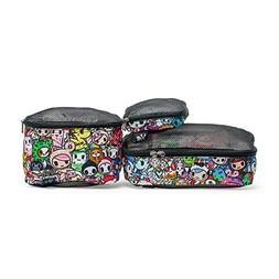 JuJuBe Be Organized Three Bag Set, Tokidoki Collection - Ico