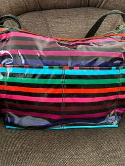 Kate Spade Daycation Serena Baby Diaper Bag Party Stripe W/