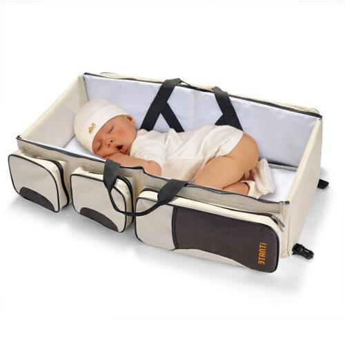 Large Bag Travel Bassinet and in1