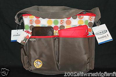 Graco pc Animal Friends Diaper brown new