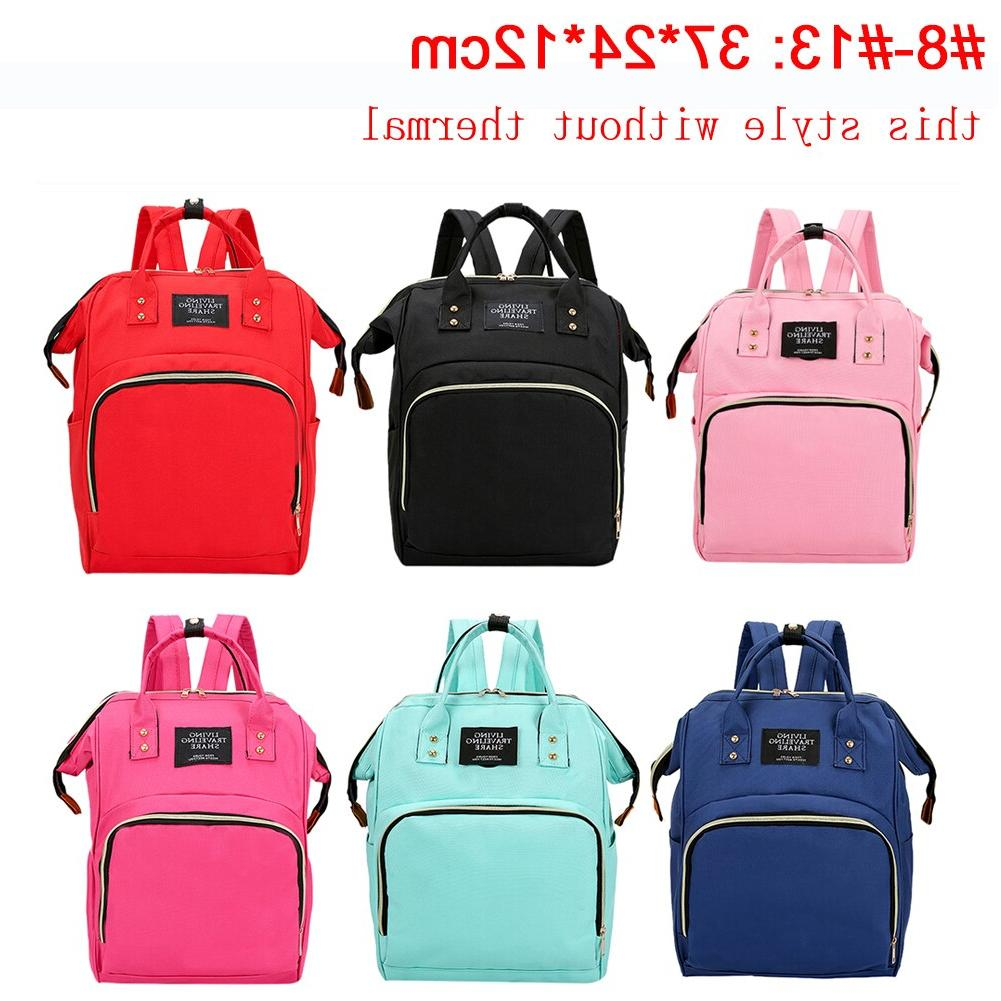 41color Mummy Backpack Zipper Bag <font><b>Baby</b></font>