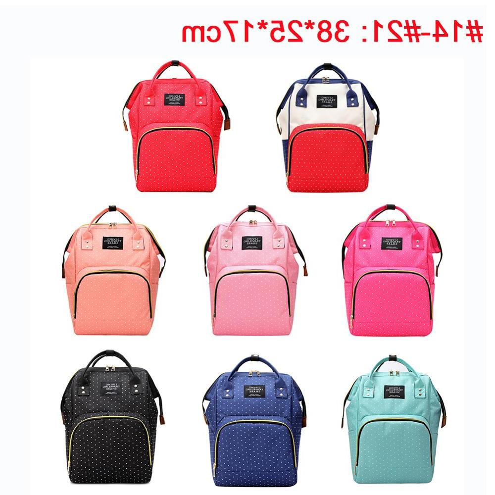 41color Backpack Zipper Bag Bag Multifunctional Nursing <font><b>Baby</b></font>