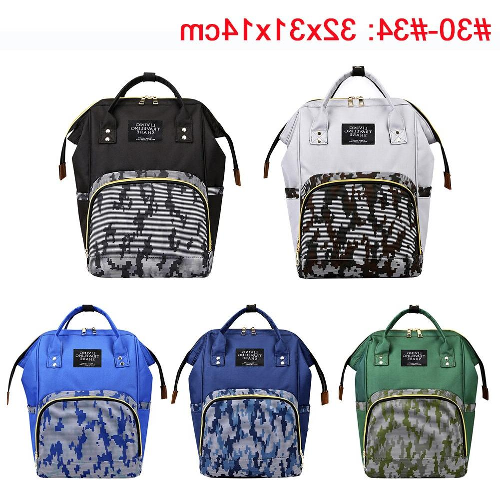 41color Backpack Large Capacity Travel Bag <font><b>Baby</b></font> Multifunctional Nursing Bag <font><b>Baby</b></font> Care