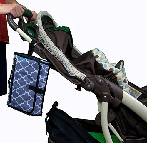 Baby - The Best Diaper Bag -Travel Mat – - Perfect Shower Gift Mom of Newborn Boys or