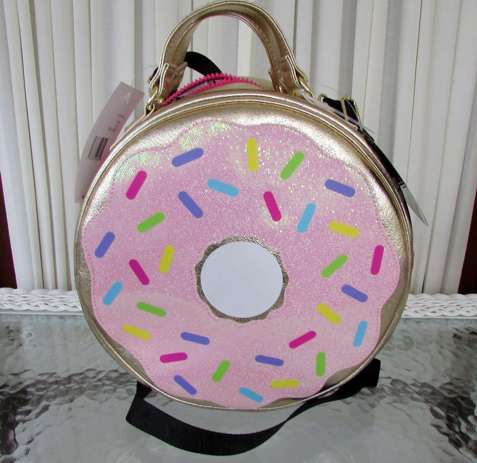 Betsey Johnson Kitsch Donut Large Insulated Lunch Tote Bag C