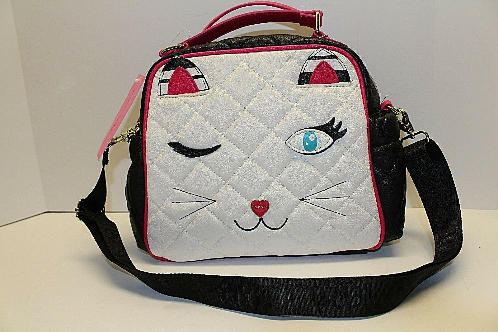 Betsey Johnson Panda Lunch Tote Insulated Lunch Bag Diaper B