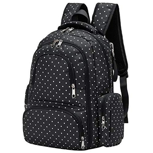 Cateep Waterproof Travel Backpack Changing and Stroller Clips