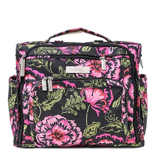 Ju-Ju-Be B.F.F. Convertible Diaper Bag, Blooming Romance