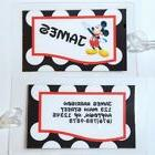 Personalized Disney Mickey Mouse  luggage tag  backpack diap