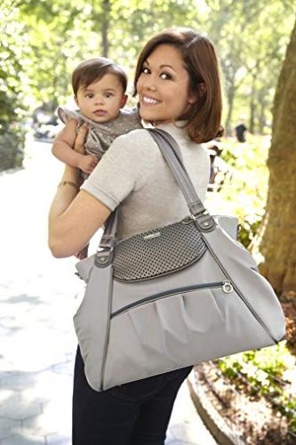 Skip Hop Day-to-Night Diaper Pewter
