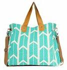 Arrows Weekender Bag by White Elm - Large Diaper Tote Bag Te