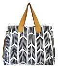 Arrows Weekender Bag by White Elm - Large Diaper Tote