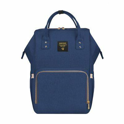 SUNVENO Baby Backpack Nappy Bag Navy