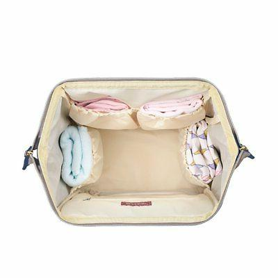 SUNVENO Bag Backpack Large Waterproof Nappy Changing