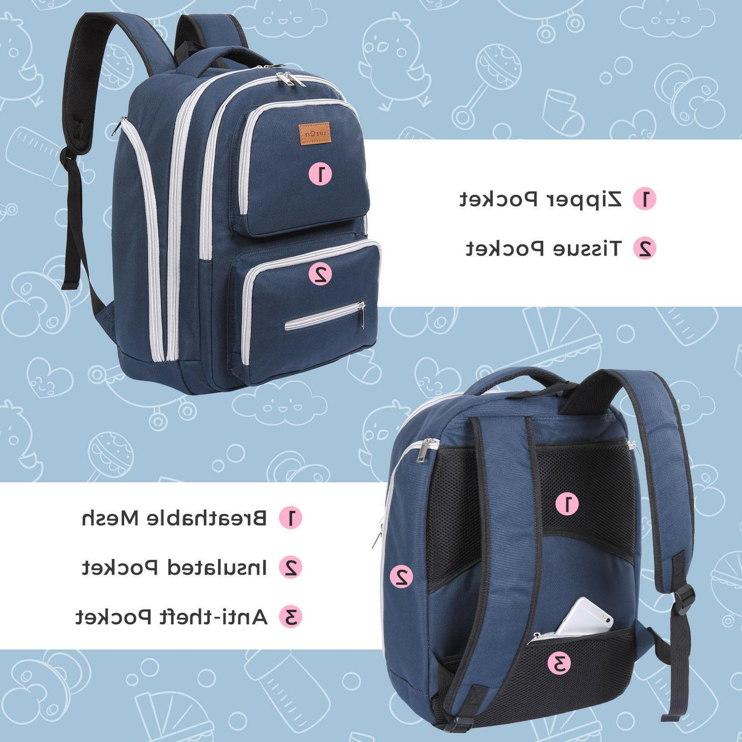 Lifewit Baby Bag Backpack Mummy Travel