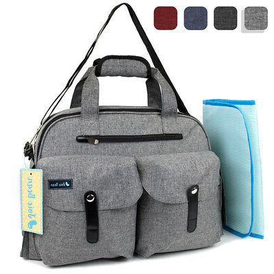 Baby Diaper Bag Nappy Maternity Tote for Mom Parents Travel