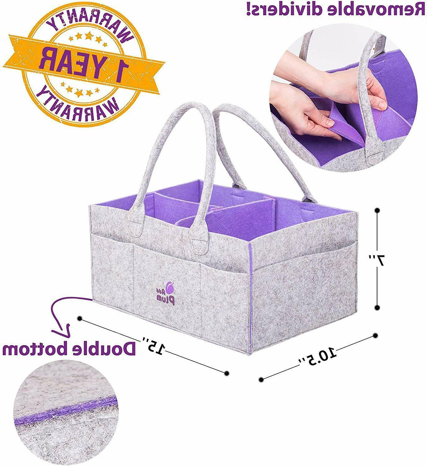 Baby Diaper for Girl Travel Portable Storage Bag