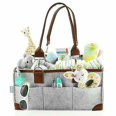 baby diaper caddy organizer portable storage basket