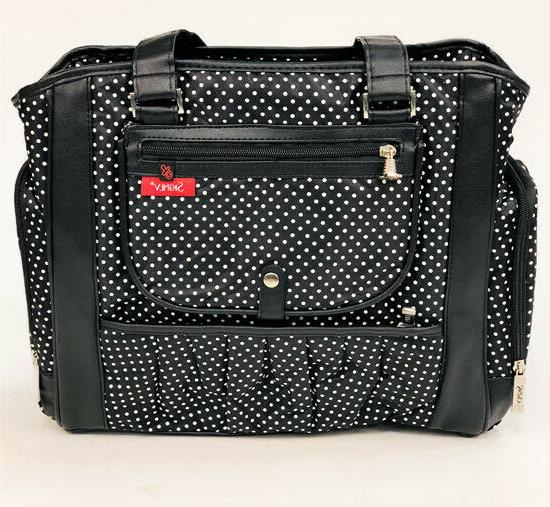Baby Bag w/ Adjustable Strap Womens Black
