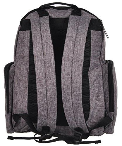 Babyboom Backpack Changing Pad - gray, one