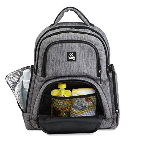 Bag Backpack Men and Women – Lightweight Design With Wipes Holder and