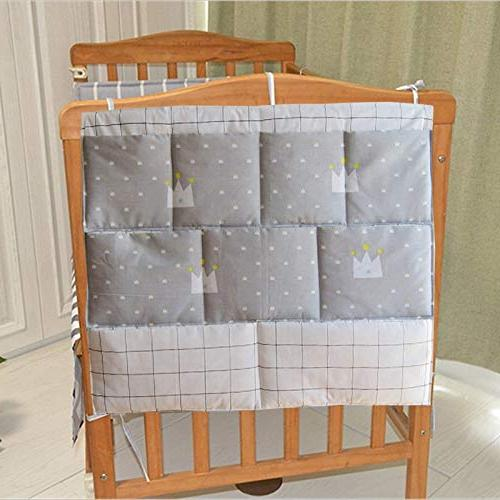 Best Sets New Bed Bumper Cot Hanging Toy Diaper Pocket Crib Bedding by 1 PCs