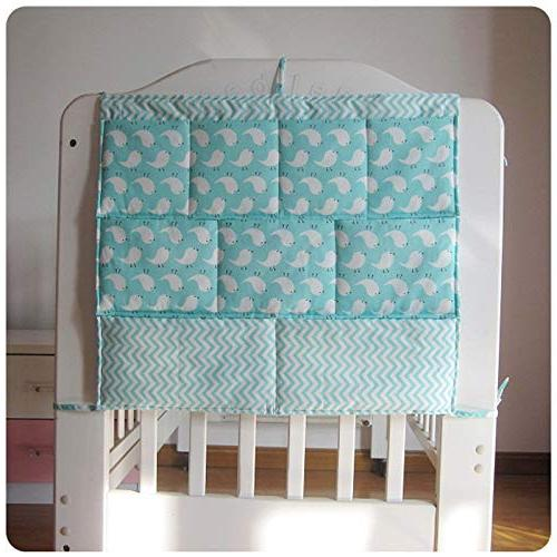 Best - Sets - New Bed Bumper Baby Cot Bed Organizer Bag Toy Crib by Panathlatic PCs