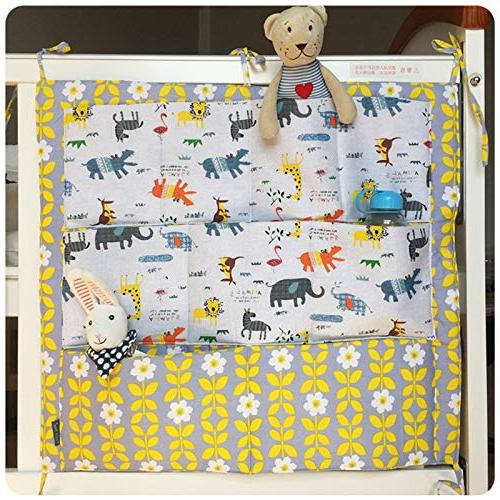 Best - Sets - New Bumper Bed Hanging Storage Crib Organizer Storage Toy Diaper Pocket for Crib Bedding Set by Panathlatic - PCs