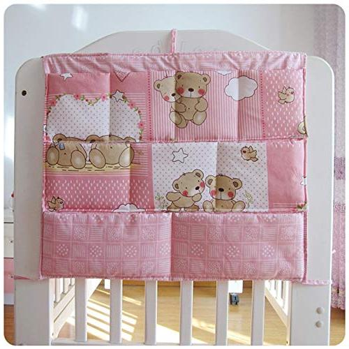 Best - Bumper Baby Bed Hanging Organizer Toy Diaper Crib Bedding by Panathlatic 1 PCs
