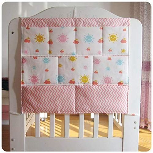 Best Bedding Sets - New Bumper Baby Cot Hanging Storage Organizer Bag Toy Crib by Panathlatic PCs