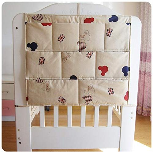 Best Quality Bedding Sets - Bumper Baby Hanging Crib Organizer Storage Bag Toy Diaper Pocket for Crib Bedding Set by Panathlatic PCs