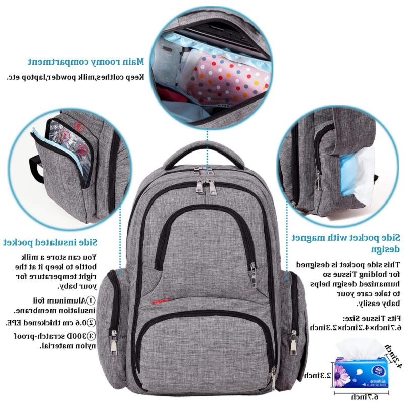 Big Sale - Diaper Backpack with Changing Pad
