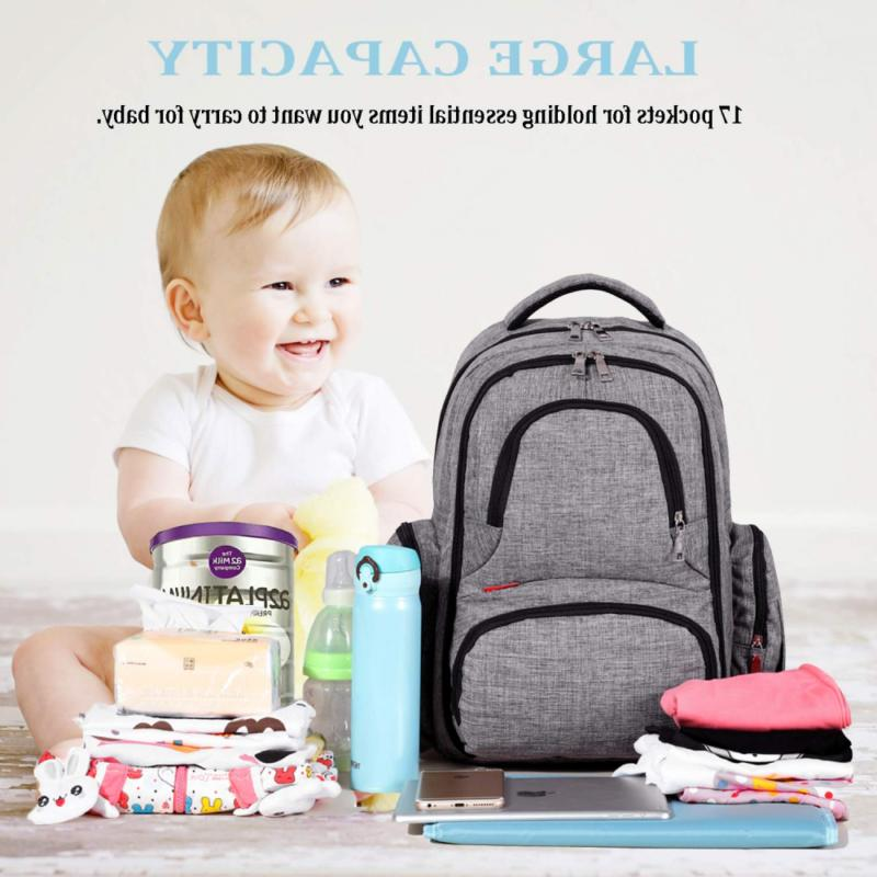 Big Sale Diaper Bag Waterproof Travel Backpack with