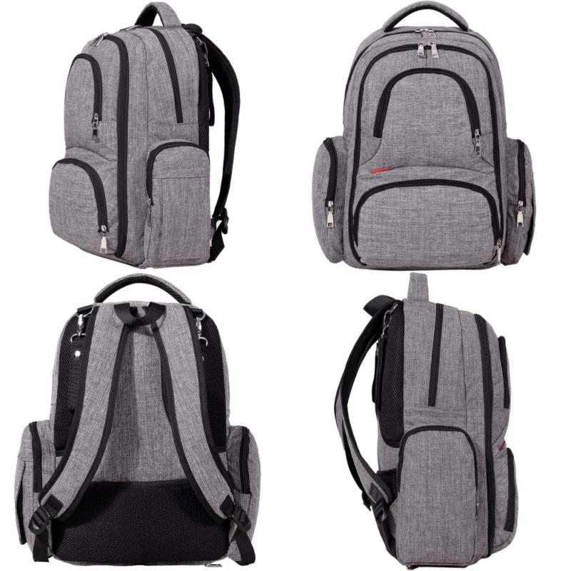 Big Backpack with Changing Pad
