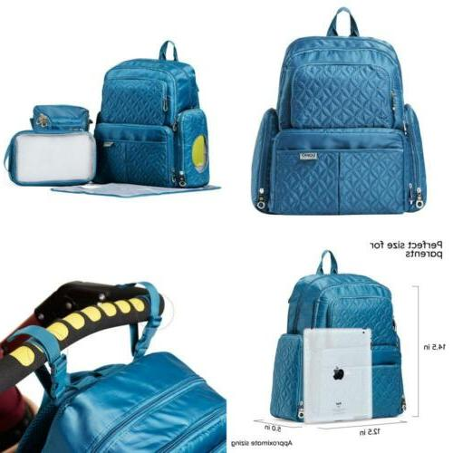collection manhattan diaper backpack set